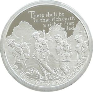 2016-Royal-Mint-First-World-War-UK-5-Five-Pound-Silver-Proof-Coin
