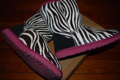 Women's Ugg Australia Exotic Zebra Hair Classic B… - image 1