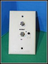 Winegard TV-Satellite Jack CABLE Receptacle IVORY CAMPER RV TRAVEL TRAILER