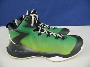 Details about NIKE AIR JORDAN Flight Plate 742692 992 Mens 9.5 Mid Height Basketball Shoes