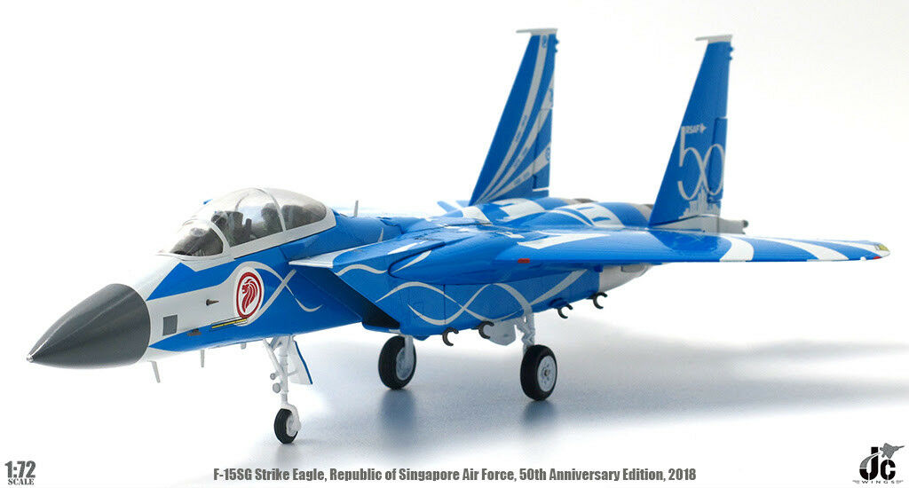 JCW72F15007 1 72 F-15SG Republic of Singapour Air Force 50TH ANNIVERSAIRE 2018