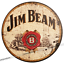 thumbnail 33 - Wood Bar Signs Vintage Retro Pub Man Cave Wall Sign Wooden Circle Plaques. UK