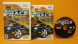 Build N Race Racing - Nintendo Wii Game Complete 1 Owner Mint Disc 1-4 players