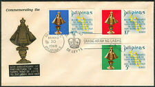 1969 Phil 80th Anniv. Of The Return Of Santo Niño De Leyte To Tacloban FDC - B