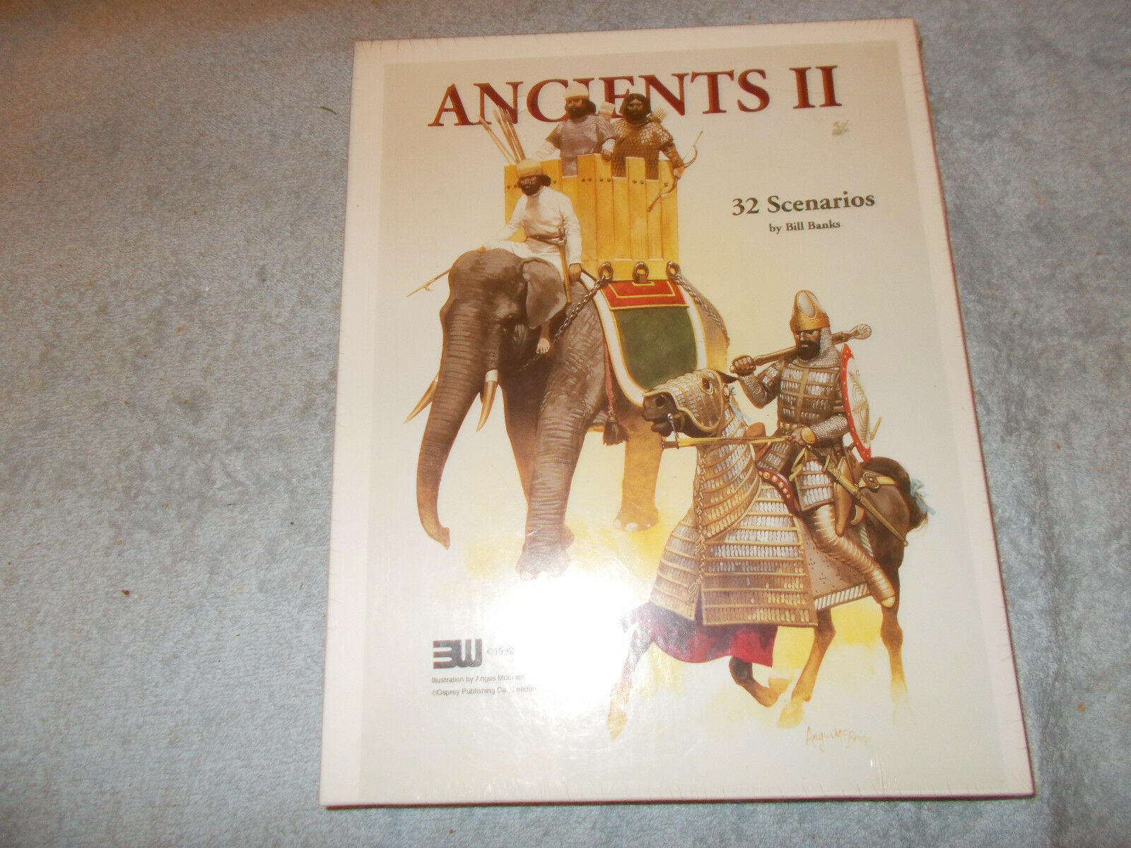 3W ANCIENTS II 32 SCENARIOS Land and Naval Battles 1800 B.C. to 1400 A.D. Sealed