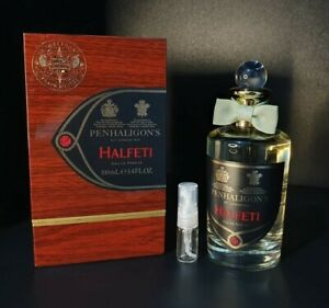 PENHALIGONS-HALFETI-Eau-de-Parfum-EDP-Spray-Atomizador-De-Vidrio-De-2ML-de-muestras-perfume