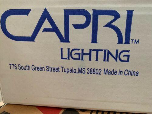 Black CT4330BK  Flat Back Track Head CAPRI Lighting