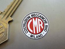 CMR Milano Classic Car Wheel STICKERS 27mm Set of 5 60's Alfa Romeo Borrani Race