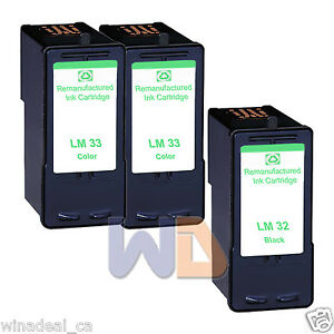 3-PK-Lexmark-33-32-ink-cartridge-Lexmark-33-32-HIGH-CAPACITY-WITH-CHIP-33-32