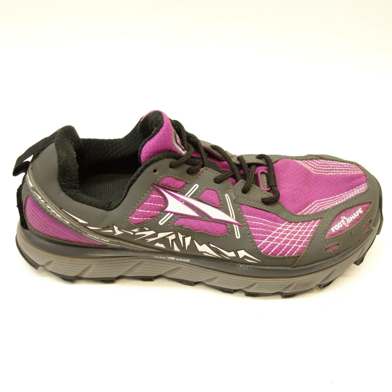 Altra Womens Lone Peak 3 Zero Drop Athletic Support Trail-Running shoes Sz 10.5