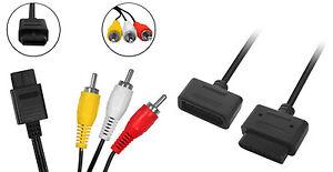 Super-Nintendo-AV-Cinch-Kabel-Controller-Verlaengerungskabel-fuer-SNES
