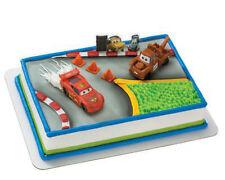 Cars Movie Pixar cake decoration Decoset cake topper set keepsake party toys