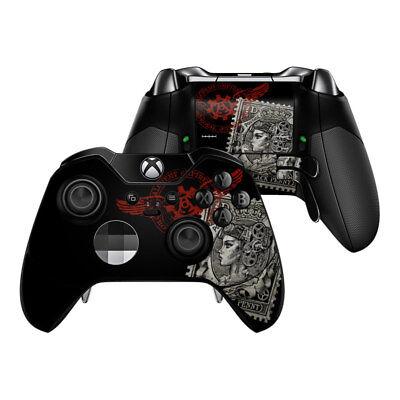 Bright Xbox One Elite Controller Skin Kit Black Penny Sticker Decal