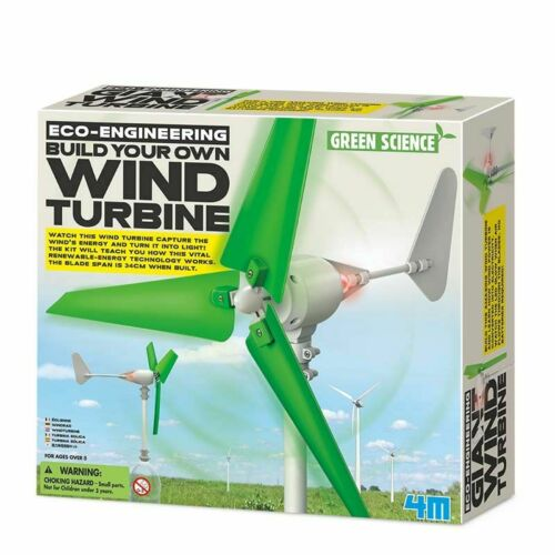 Eco-Engineering-Construis ta propre Wind Turbine Green Science Experiment