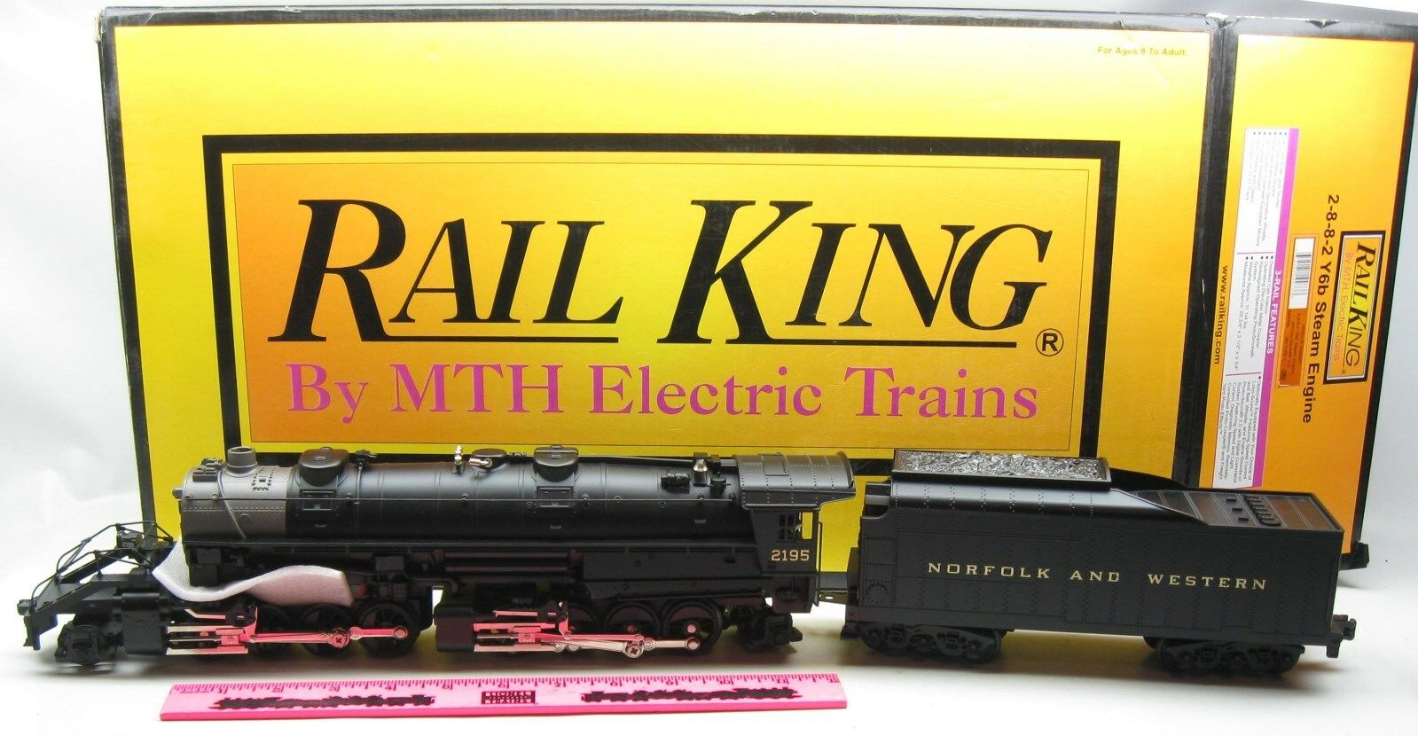 MTH  30-1163-1 Norfolk & Western 2-8-8-2 Y6b Steam Engine with predo-sound 2.0