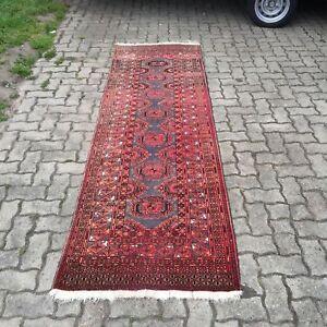 Handgeknüpft Purposeful Antiker Orient Teppich Läufer Old Rug Quell Summer Thirst