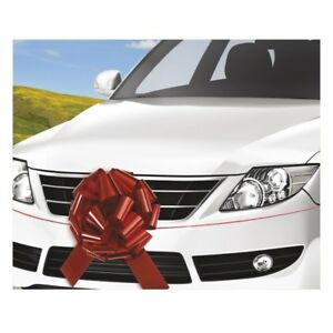 Unique 18 inch Giant Car Bow, Red - 63603