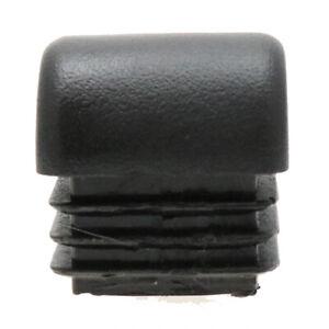Confezione da 25 inserti quadrato a cupola 22.2mmx22.2mm, Sedia Inserti, Inserti Tubo, Mobili