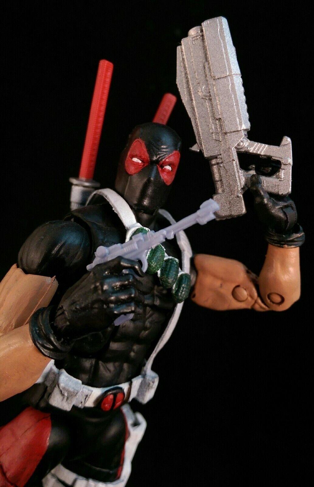 Deadpool personalizado de Marvel Legends por arma de envío global sin alas Variante Xmen