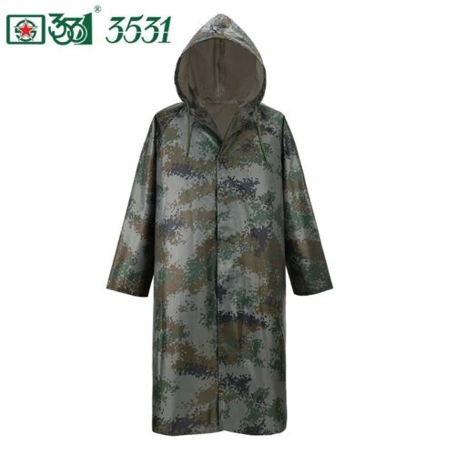 Details about  /Men/'s Waterproof Raincoat Loose Hooded Jacket Outdoor Fishing cape Camouflage