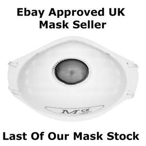 JSP Black FFP2 Dust Mask Anti Fumes Filter Safety Face ...