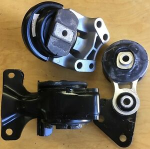 2 Engine /& 1 Transmission Mount Fit 2007 2008-2010 Lincoln MKX Ford Edge 3.5L