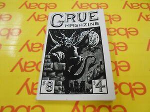 GRUE-Magazine-No-8-1988-USA-edited-by-Peggy-Nadramia-Horror-Don-Webb