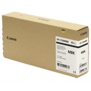 Canon PFI-1700 700ml Matte Black Pigment Ink Tank ...