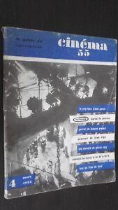Rivista per Lettera Cinema N° 4 Mars 1955 ABE