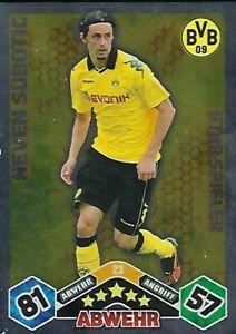 Handsignierte AK Autogrammkarte NEVEN SUBOTIC Borussia Dortmund 10//11 2010//2011