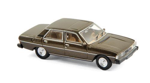 Echelle 1//87 NOREV Ho Peugeot 604 SL berline 1976 brun santal