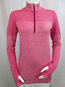 a60a4ec8dfac NWT Nike Dri-Fit Knit Long Sleeve Half-Zip Women s Running Shirt ...
