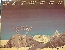 "NETWORK ""Self Titled"" 12"" Vinyl Stereo LP  33RPM ~1977 Epic ~ PE 34979 VG+ Promo"