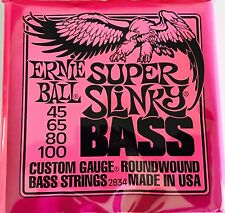 Ernie Ball 2834 Super Slinky Nickel 4 String Bass Strings