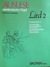 Skalden - Auslese elektronische Orgel Lied 2 - 16 berühmte Lieder