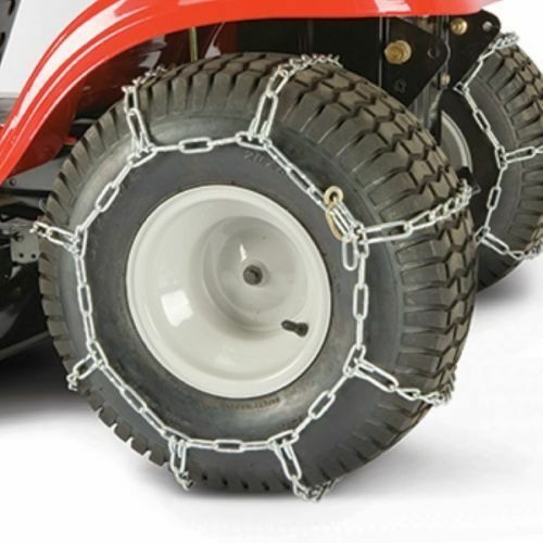 Cadenas del neumático 490-241-0023 MTD Original Equipment Manufacturer se adapta algunos unidades de Tractor de jardín