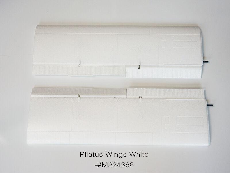 bellissima Multiplex Pilatus Pilatus Pilatus  PC-6 Wings, bianca MPU224366  offerta speciale