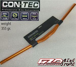 Manubrio-piega-bici-MTB-Enduro-CON-TEC-BRUT-EXTRA-anodizzato-ORO-780mm