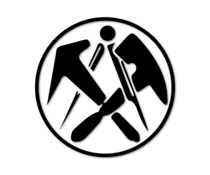 Dachdecker Handwerk Aufkleber Autoaufkleber Gilde Beruf decal 24 #8088