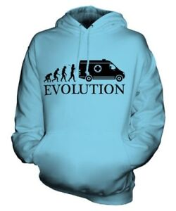 Idea Felpa Maglia Evolution Cappuccio Con Ambulance Man Unisex Nhs Of Regalo qIgw8TS