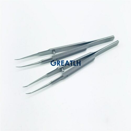 Micro Tweezers forceps Clip Stainless Steel fine tip microsurgical instrument