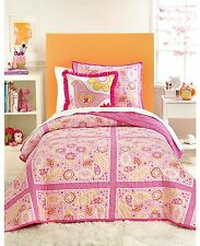 Martha Stewart Paisley Party Full/Queen Quilt Pink O305