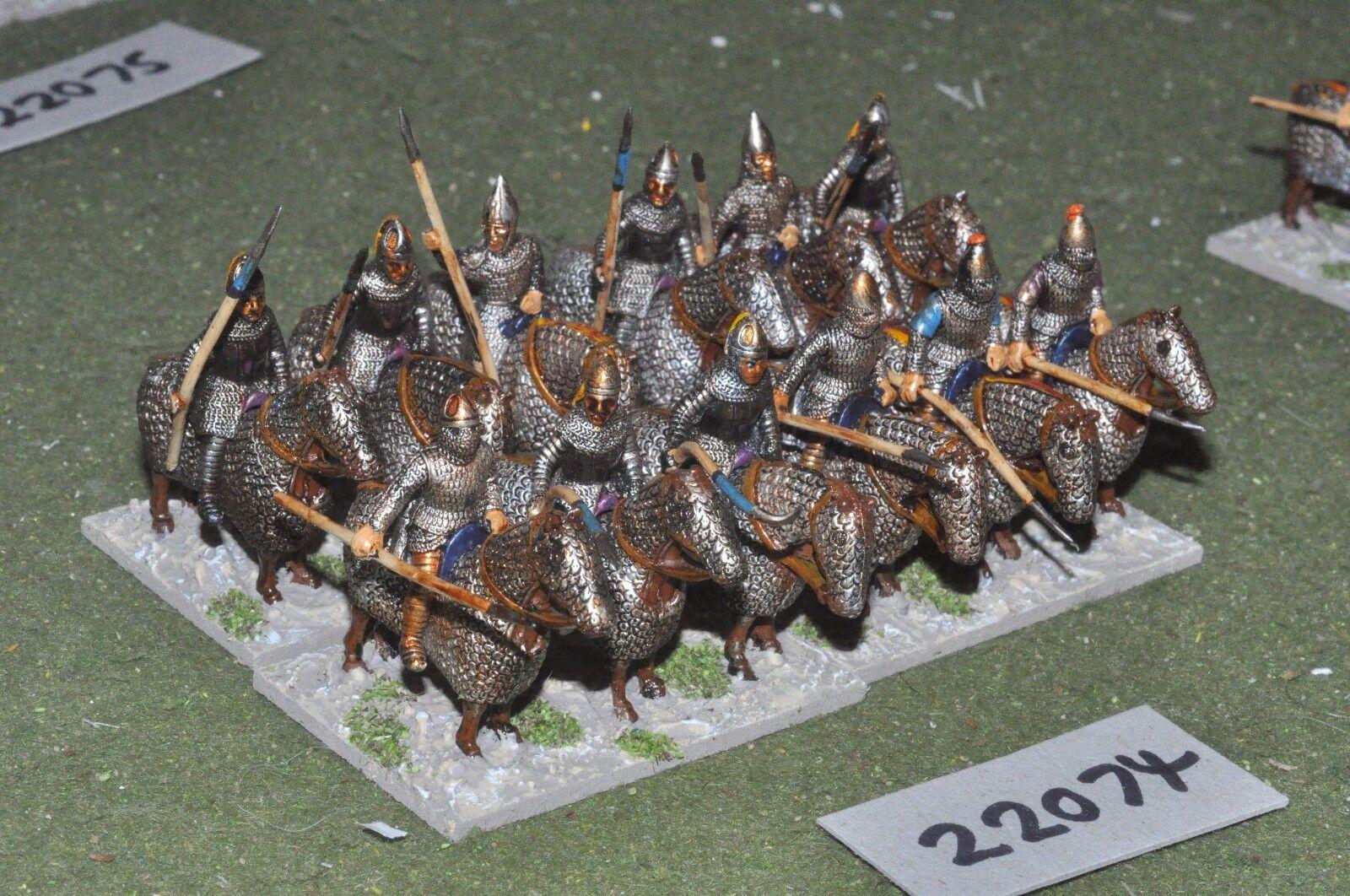 25mm roman era   roman - late cataphracts 12 figs cavalry - cav (22074)
