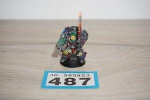 Warhammer-40k-caos-marines-espaciales-traidor-Terminator-Metal-Lote-487