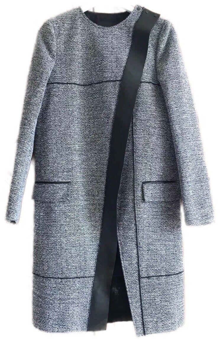 Proenza Schouler Structured Minimalist Business Dress Coat Womens US 6