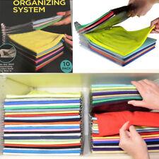 10 Clothes Organizer System Closet Drawer Desk File Cabinet Organization EZSTAX