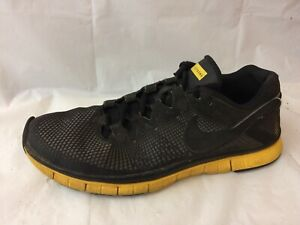 f5036166f74 Nike Free Trainer 3.0 Livestrong Black Yellow 553638 007 Men 10.5 M ...
