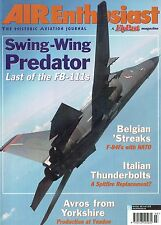 AIR ENTHUSIAST #98 MAR-APR 02: FB-111/ NATO F-84Fs/ ITALIAN P-47s/ GRUMMAN XTB2F