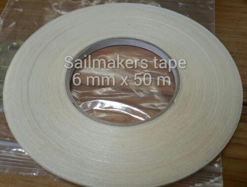 6mmx50 M Alto Tachuela cinta de doble cara adobadora para Coser Telas arte y artesanía