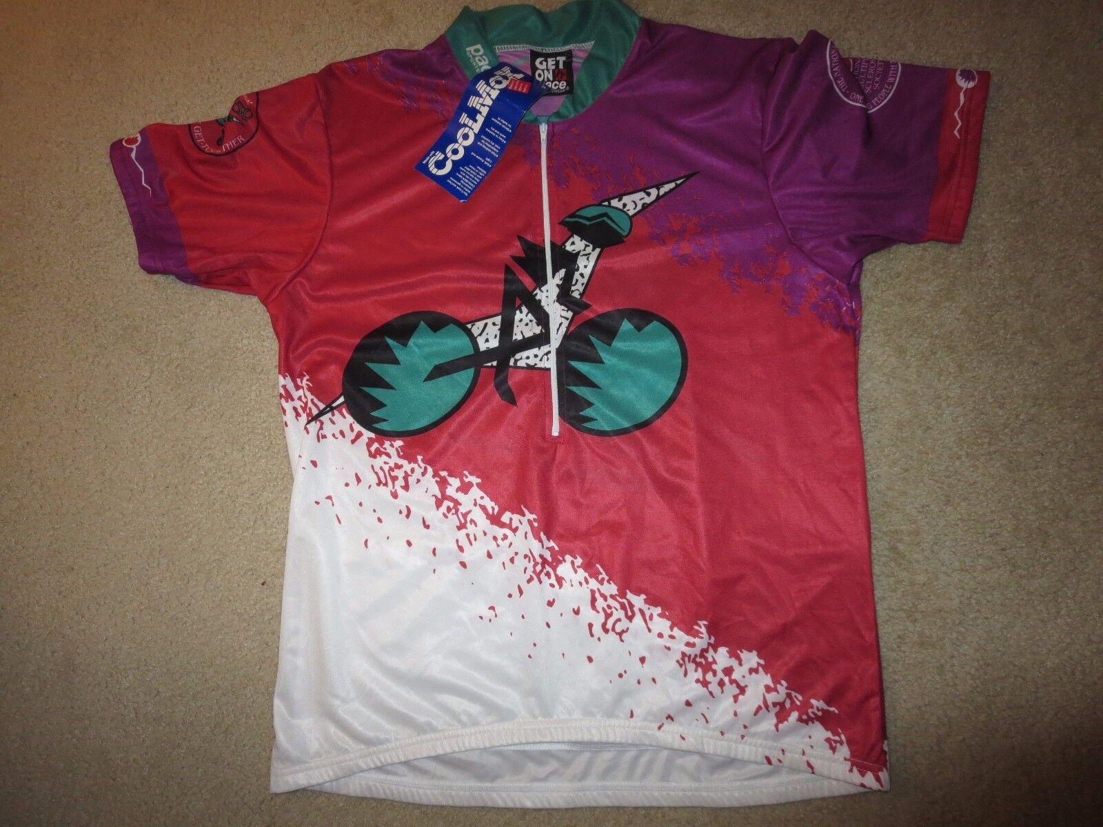 Arizona Arizona Arizona Ms 150 Radsport Team Fahrrad Trikot XL Neu b6d569